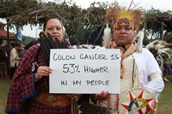 Photo courtesy of the American Indian Cancer Foundation.