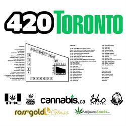 Toronto 420 Ross' Gold Glass