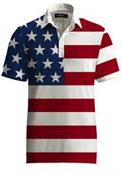 loudmouth fancy shirt stars & stripes