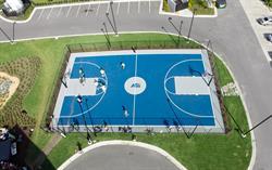 ASI basketball court