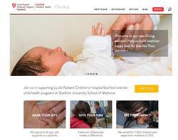 nonprofit foundation website redesign
