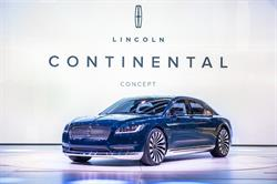 Lincoln Continental Concept featuring an SPD-SmartGlass electronically tinting sunroof using patented technology from Research Frontiers (Nasdaq: REFR)