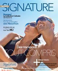 Brochure Vacances Signature 2015-2016