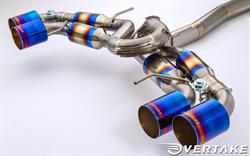 Overtake x Amuse Titanium Exhaust System - Distributed by Bulletproof Automotive