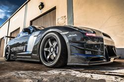 Bulletproof GT-R SPL utilizing the complete Overtake Japan carbon fiber bodywork