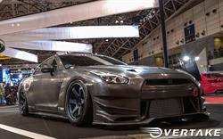 Overtake carbon fiber GT-R