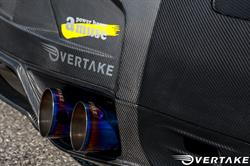 Like Powerhouse Amuse, Overtake has partnered with Bulletproof Automotive for international reach