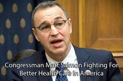 Congressman Matt Salmon meets with Envita Medical Center to discuss innovative cancer treatment