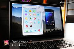 iOS and Android Mirroring Together