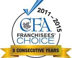 Franchisees' Choice 2011-2015