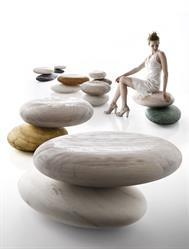 mable seating system, pave, pave stone, marble furniture, made in italy, designer seating, kreoo