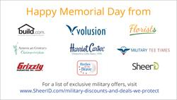 Businesses Salute Military Service With Exclusive Memorial Day Deals