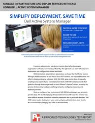 Get more time to innovate in the datacenter with simplified deployment.