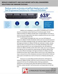 See how much you can save with Dell Engineered Solutions for VMware EVO:RAIL