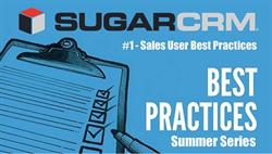 SugarCRM Best Practices Series - Session #1