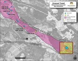 Grasset Trend Mineral Occurrences & New Discoveries, May 26, 2015