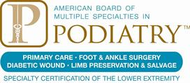 The American Board of Multiple Specialties in Podiatry (ABMSP)