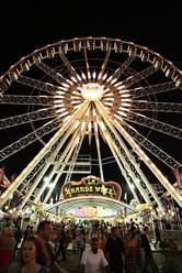 La Grande Wheel at the 2015 OC Fair (July 17-August 16)