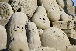 Giant Sand Sculpture at the 2015 OC Fair (July 17-August 16)