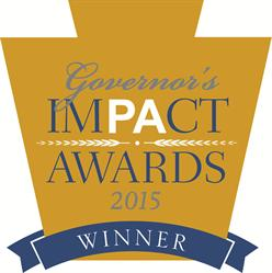 PA Governor's Impact Award Winner