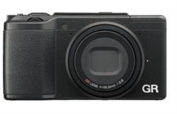 Image of front of the Ricoh GR II