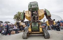 Maker Faire Bay Area 2015 - MegaBot - Photo by Becca Henry.