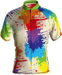 Loudmouth Men's Cycling Jersey in Drop Cloth