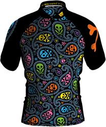 Loudmouth Men's Cycling Jersey in Jolly Roger