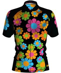 Loudmouth Women's Cycling Jersey Short Sleeve in Magic Bus