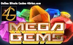 Play Mega Gems for Free or Bitcoin at 4Grinz.com.