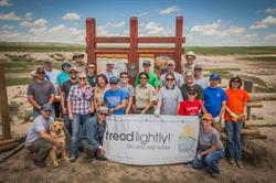 Tread Lightly!, Noble Energy, USFS, Forest Service, OHV, restoration, volunteer, recreation