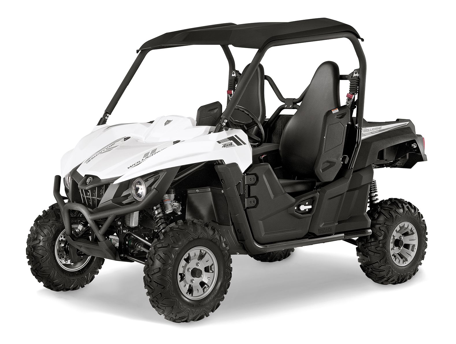 Yamaha introduces new 2016 wolverine side by side models for Yamaha side by side 4 seater