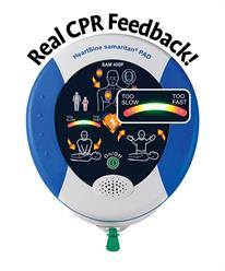 samaritan® PAD 450P AED with Integrated CPR Rate Advisor™