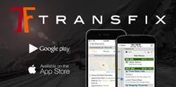 Transfix mobile app for OTR truck drivers