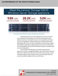 The Lenovo Storage N4610 Windows Server Storage appliance: High storage capacity and more
