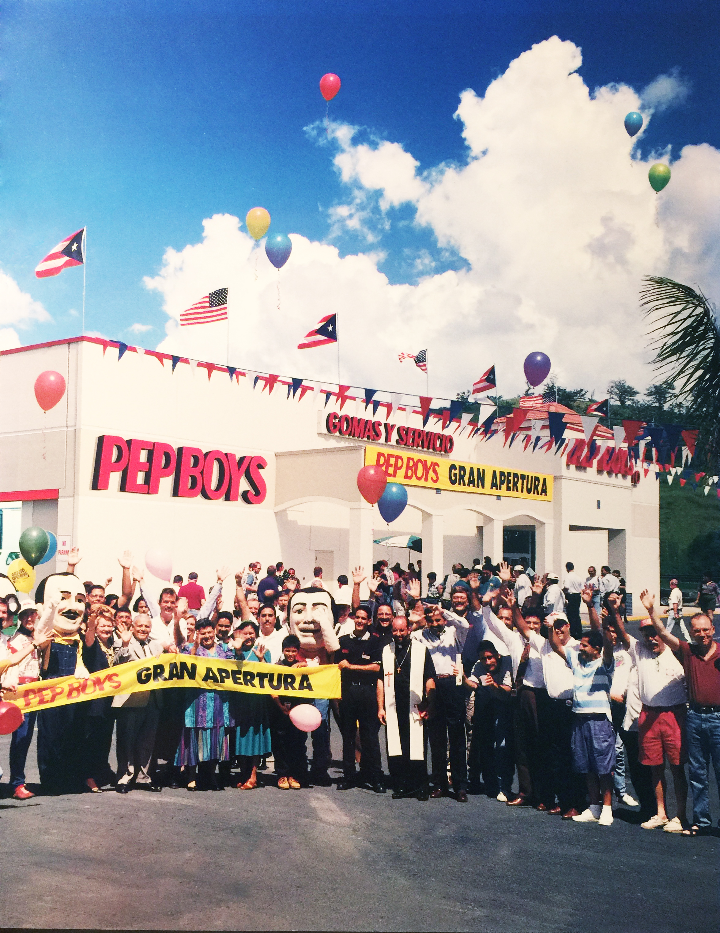 Pep Boys Celebrates 20th Anniversary Serving The Residents Of Puerto