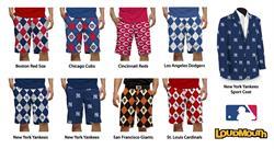 Loudmouth - Major League Baseball Clothing Line