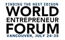 World Entrepreneur Forum -- Finding the Next Edison