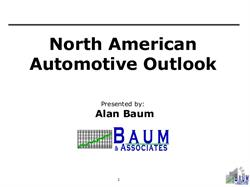 North American Automotive Outlook