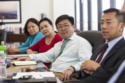 Government officials from Mongolia seek advise from Rand Group