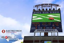 Piqua High School Scoreboard, Piqua, OH