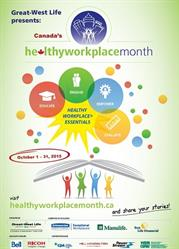 Poster Icon for Canada's Healthy Workplace Month