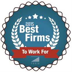 2015 Best Firm to Work For Winner