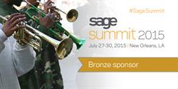 Sage Summit 2015 sponsor