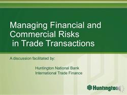 Financial and Commercial Risks in Foreign Trade Transactions