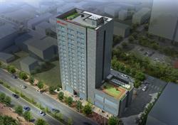 A rendering of a Ramada under construction in Gunsan