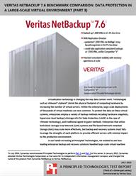 Back up your critical data faster with Veritas NetBackup 7.6