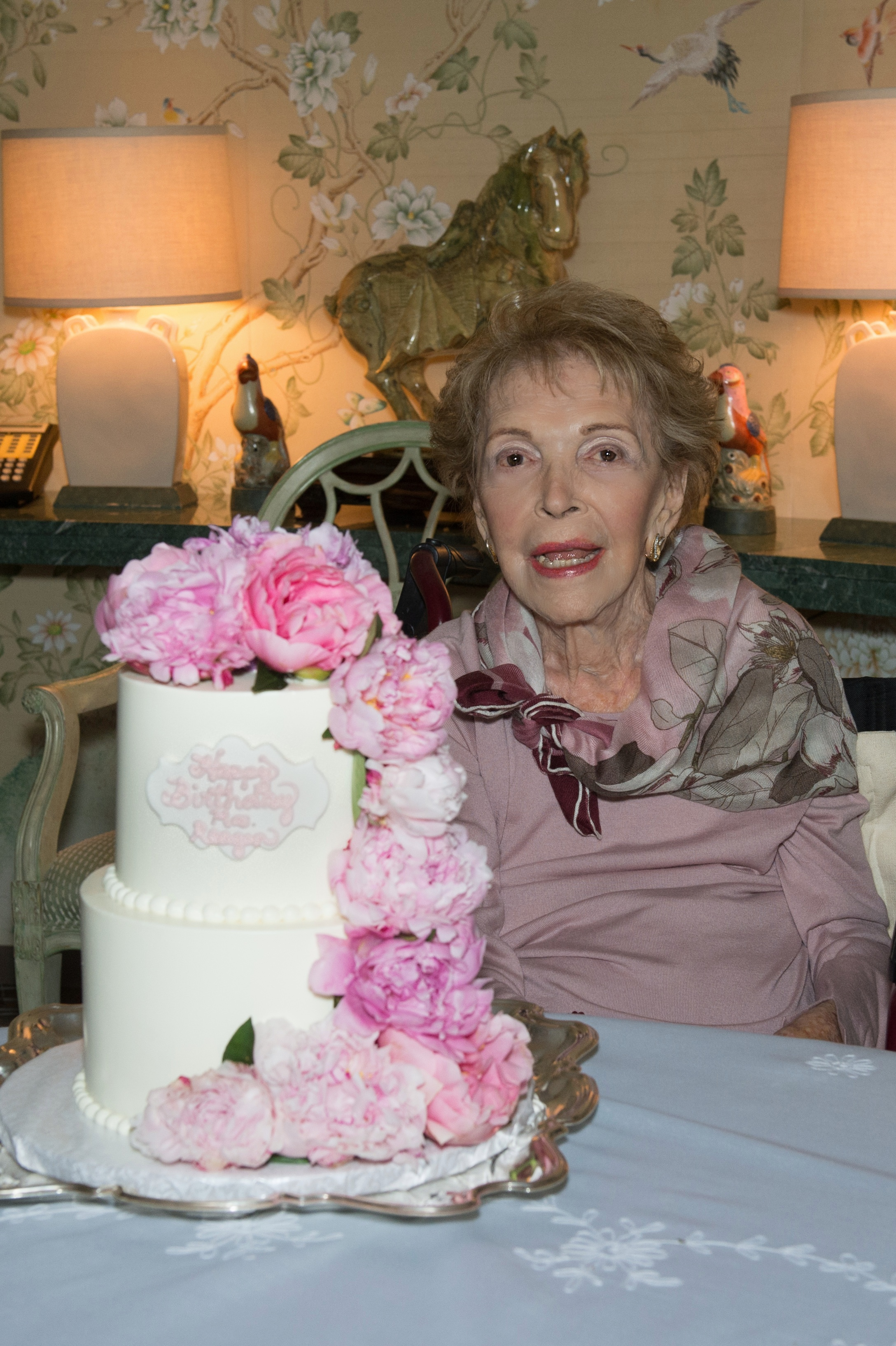 Nancy Reagan Birthday Cake