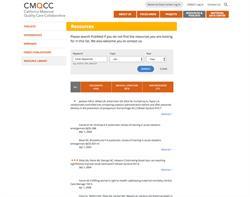 CMQCC Responsive Website Design and Development