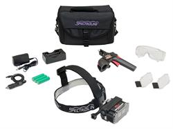 The EK-3000 EagleEye UV-A/White Light Inspection Kit with components